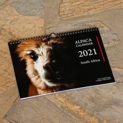 Alpaca Calendar 2021 Single