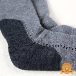 Alpaca Hiking Socks Grey